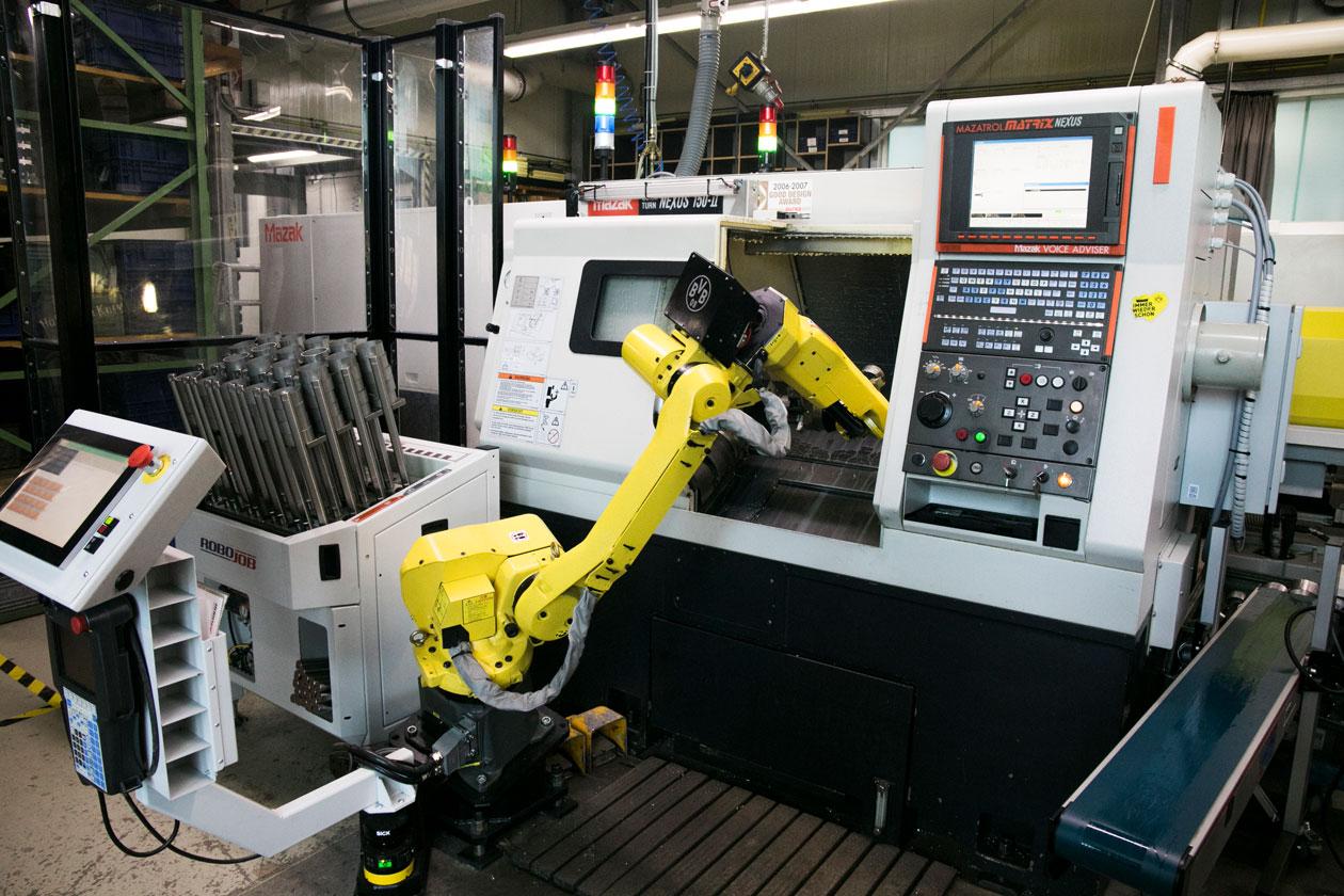 Automatisierung durch Roboter