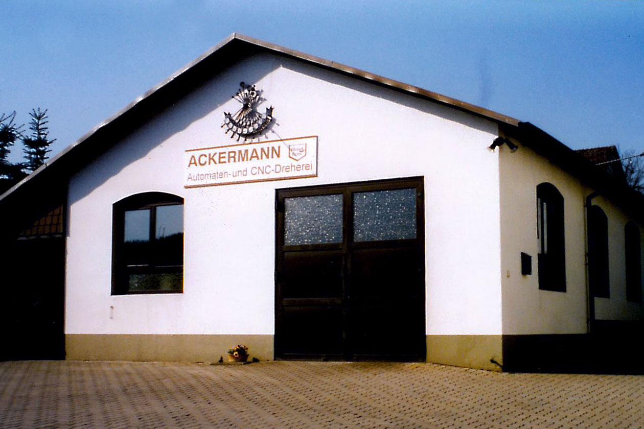Ackermann Metallwaren GmbH - die Anfänge