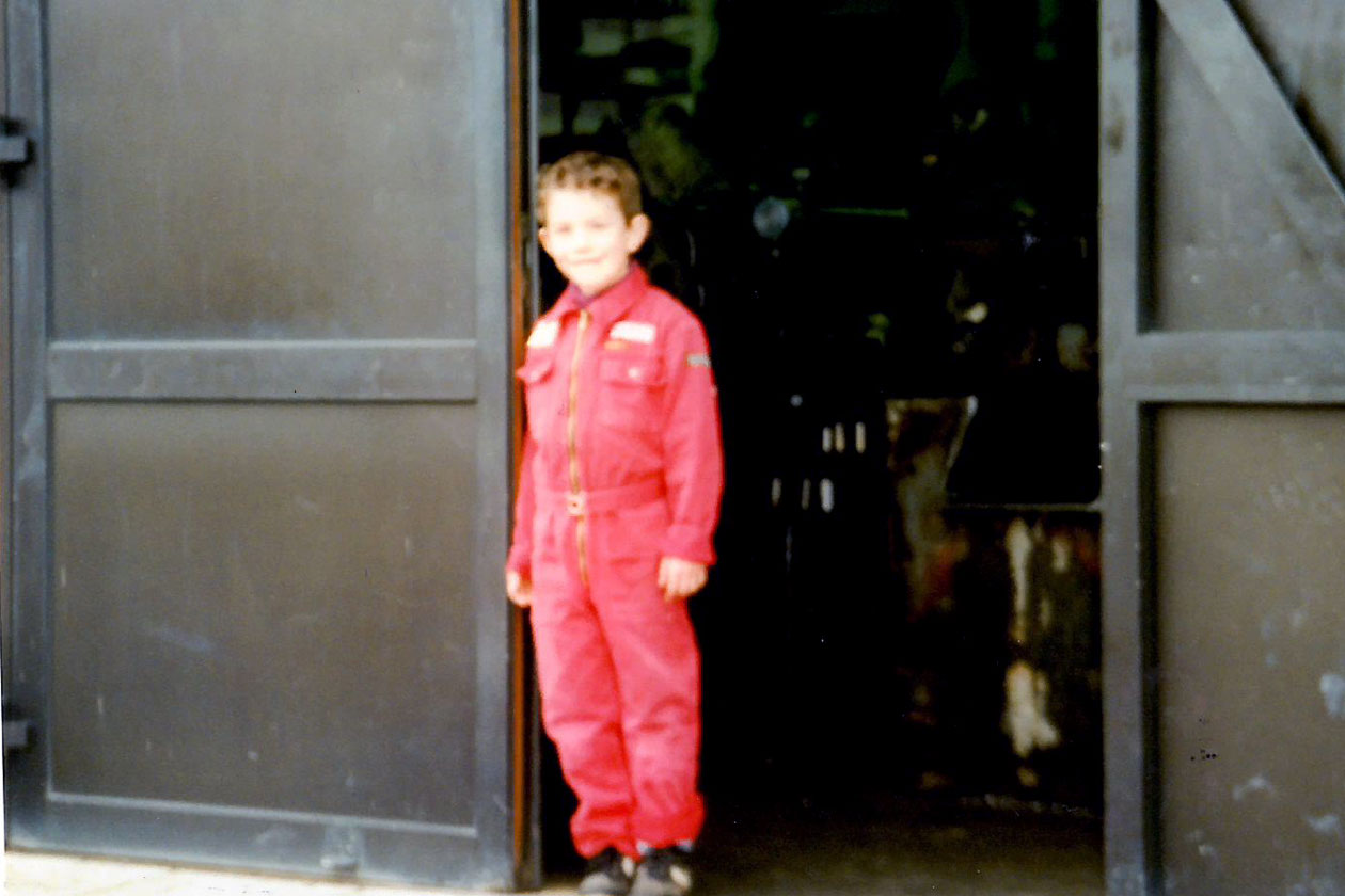 Carsten Ackermann - a part of the company from an early age